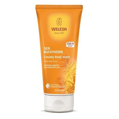 Weleda Seabuckthorn Creamy Body Wash 200ml