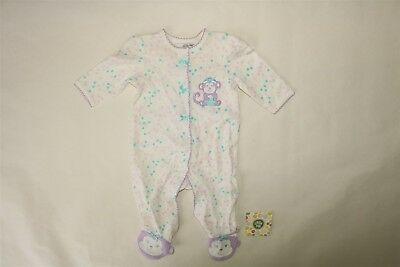 4cb151899 CARTERS BABY GIRL Footie One Piece Pajamas Little Sister Outfit 3M ...