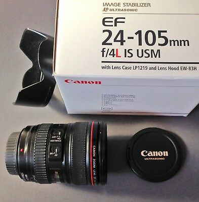 Canon Zoom Lens EF24-105mm f/4L IS USM