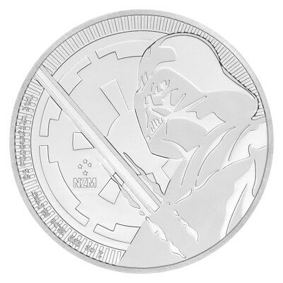 2018 Niue Star Wars Classic Darth Vader 1 oz Silver $2 GEM BU PRESALE SKU54577