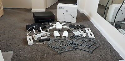 DJI Mavic Pro Alpine White | 3 Batteries | Carry Case | Guards | Propellors