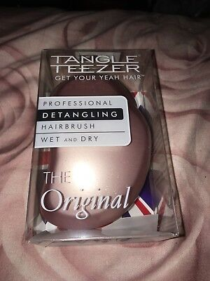 Tangle Teezer-Rose Gold Blush.