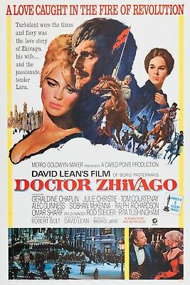 """Doctor Zhivago""..Omar Sharif Julie Christie..Classic Movie Poster Various Sizes"