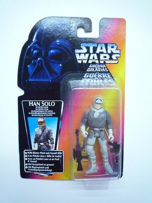 Star Wars Figur Han Solo in Hoth Gear with Blaster and Rifle | Hasbro 69587.164