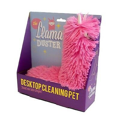 Gift Republic Llama Duster Desktop Cleaning Pet
