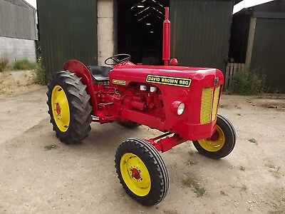David Brown 880 Implematic Tractor Rare 12 Speed 3 Lever Gearbox No Reserve