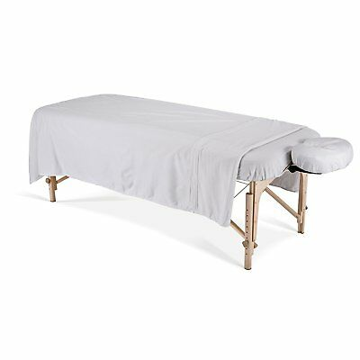 6-24 pieces new white massage table flat draw bed sheets 54x90 muslin t130