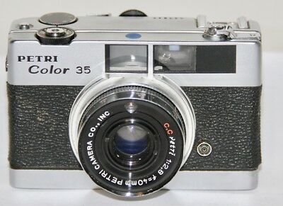 Petri Color 35 Sold In AS IS Condition