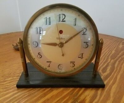 VINTAGE ART DECO TELECHRON CLOCK *for parts or repairs*