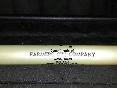 Vintage Can Juice Opener - Advertising's - Farmers Gin Company - West,Texas