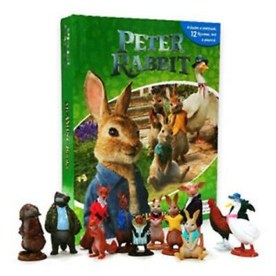 Peter Rabbit My Busy Book w/ 12 Figures and Playmat! BRAND NEW!