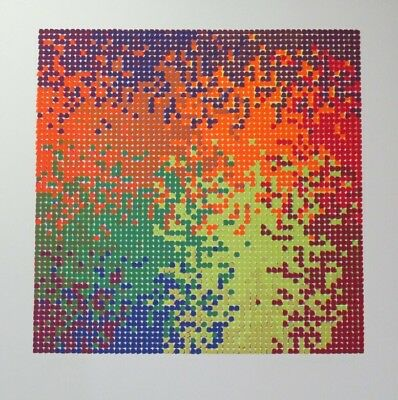 """Summer Special! Limited Ed Serigraph Print """"Random Colours G"""" by David Roth!"""