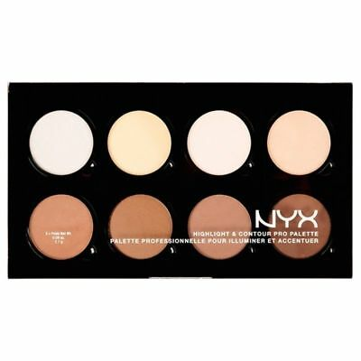 NYX Cosmetics Highlight & Contour Pro Palette HCPP01 Highlighting and Contouring