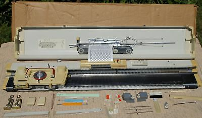 Epsinal Knitmaster 260K Punch Card Knitting Machine + Accessories - Boxed