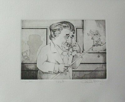 """Summer Special! Limited Edition Etching Print """"Torte"""" by Charles Bragg!"""