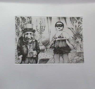 """Summer Special! Limited Edition Etching Print """"By Appointment"""" by Charles Bragg!"""