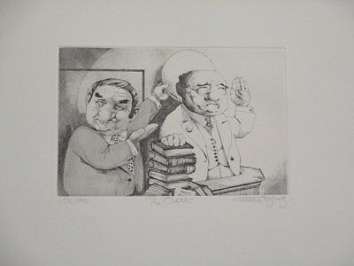 """Summer Special! Limited Edition Etching Print """"The Oath"""" by Charles Bragg!"""