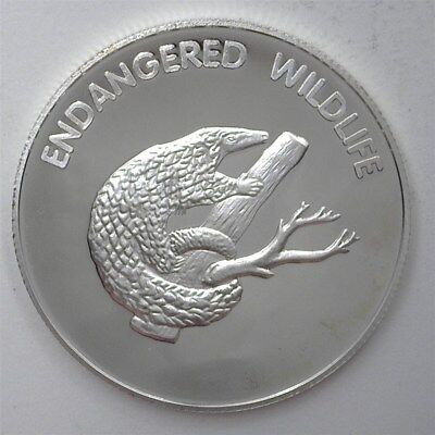 Endangered Wildlife Series 2005 10 Kwacha - Tree Pangolin - Perfect Proof Dcam