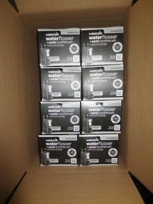 Waterpik waterflosser + sonic toothbrush complete care 5.0 Wp-862w lot of 8  new