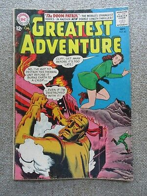 My Greatest Adventure # 82 3rd Appearance Doom Patrol -