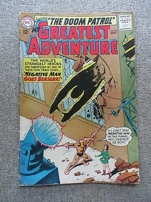 My Greatest Adventure # 83 4th Appearance Doom Patrol -
