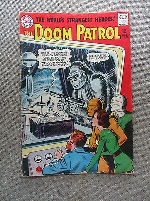 Dc: The Doom Patrol #86 (#1), 1St App. Brotherhood Of Evil, 1964, Vg+