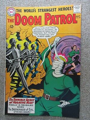 DC: THE DOOM PATROL #87, 2nd APP. BROTHERHOOD OF EVIL, 1964, VF-