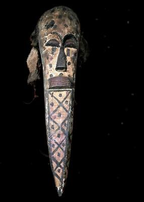 Old Tribal Large Kuba   Mask  ---  Congo
