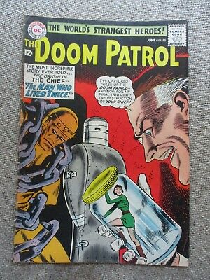 DC: THE DOOM PATROL #88, Origin of The Chief, 1964 - FN