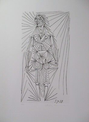 Summer Special! Limited Edition Lithograph Print by the Great Pablo Picasso!