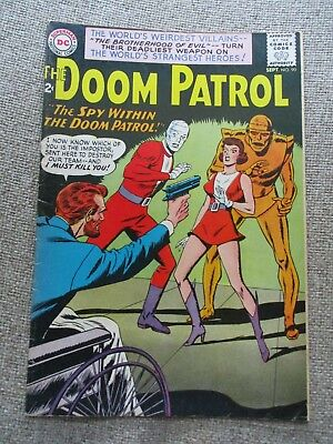 DOOM PATROL #90, With the Brotherhood Evil