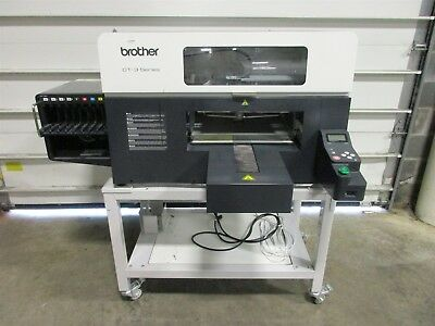 Brother GT-3 Series DTG Direct to Garment Printer GT3810 GT-381 (No Power/AS-IS)