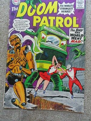 DC THE DOOM PATROL # 96 - 99 - All GD/VG - 99 1st Beast Boy