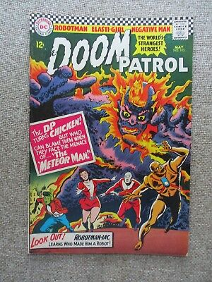 Dc The Doom Patrol # 103 - Vf-
