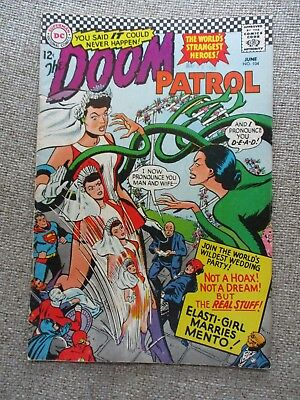 Dc The Doom Patrol # 104 - Vf-