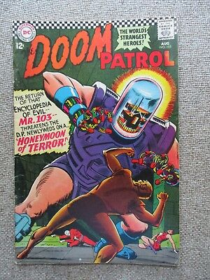 Dc The Doom Patrol # 105 - Vf-