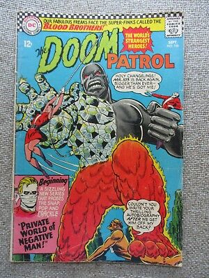 Dc The Doom Patrol # 106 - Fn/vf