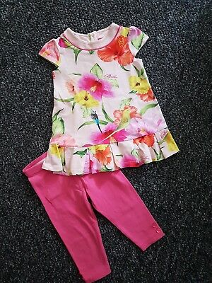 TED BAKER - Designer Summer Outfit - Size 9/12 months - VERY GOOD CONDITION