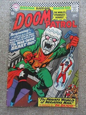 Dc The Doom Patrol # 107 - Fn/vf