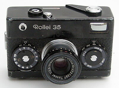 Combat Vet owned Rollei 35 Camera w/history 1967 LOW 1st Year Serial #