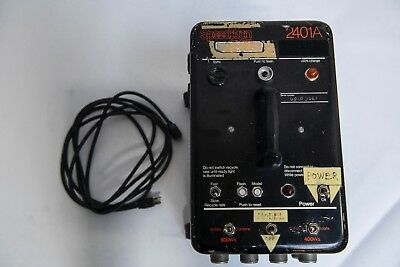 Used Speedotron 2401A Power Pack black, with cord, serviced last 2 years.