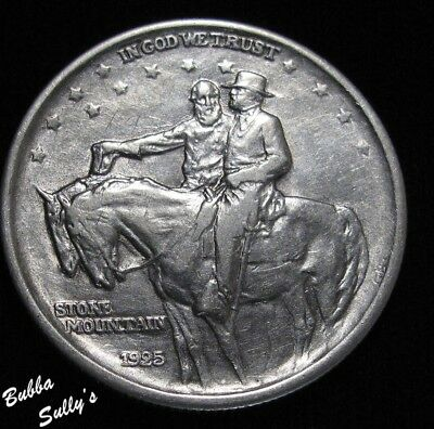 1925 Stone Mountain Commemorative Half Dollar <> EXTREMELY FINE