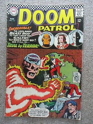 DC THE DOOM PATROL # 110 - 114 - 5 Issues Overall FN+ or Better