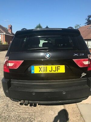 X3 BMW LPG converted with private plate