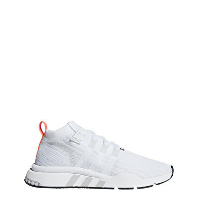 sale retailer e1231 49c57 Adidas Mens Originals EQT Support Mid ADV PK Primeknit Boost Shoes White  B28133