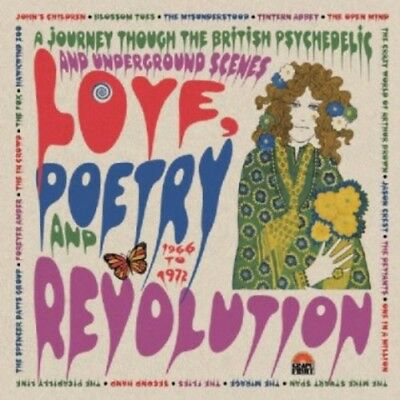Various Artists - Love Poetry & Revolution: British Psych / Various [New CD] UK