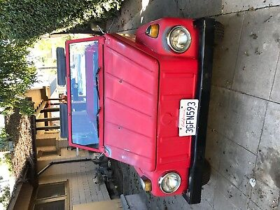 1973 Volkswagen Thing red 1973 VW Thing, red, most part original, 96,000 miles, 2 owners, always covered
