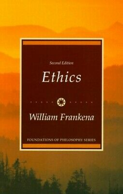 Ethics (Foundations of Philosophy) by Frankena, William K. Paperback Book The
