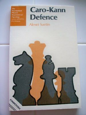 Caro-Kann Defence (Tournament Player's Repertoire o... by Suetin, A.S. Paperback