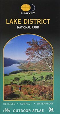 Lake District National Park (Harvey Outd... by Harvey Map Services  Spiral bound
